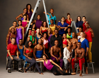 Company members of The Alvin Ailey American Dance Theatre